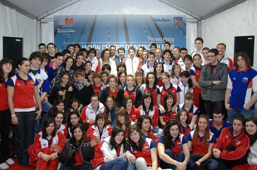 La comunidad de madrid construir en el centro de for Piscina 86 mundial madrid