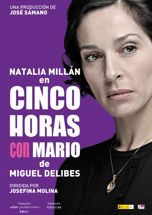 Cartel de la función del 2010-2011 de Natalia Millan