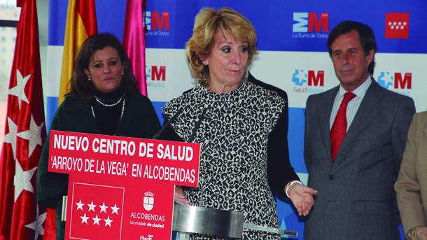 Aguirre inaugur el nuevo centro de salud arroyo de la for Jardin de la vega alcobendas