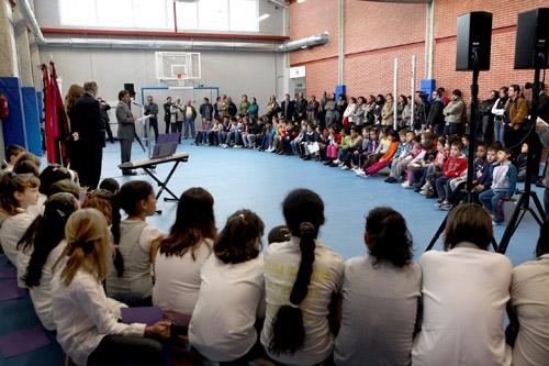 Nuevo gimnasio cubierto para el colegio castilla de alcobendas - Gimnasio en alcobendas ...
