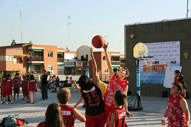 Torneo 3x3 de basket escolar en colmenar - Jardineria colmenar viejo ...