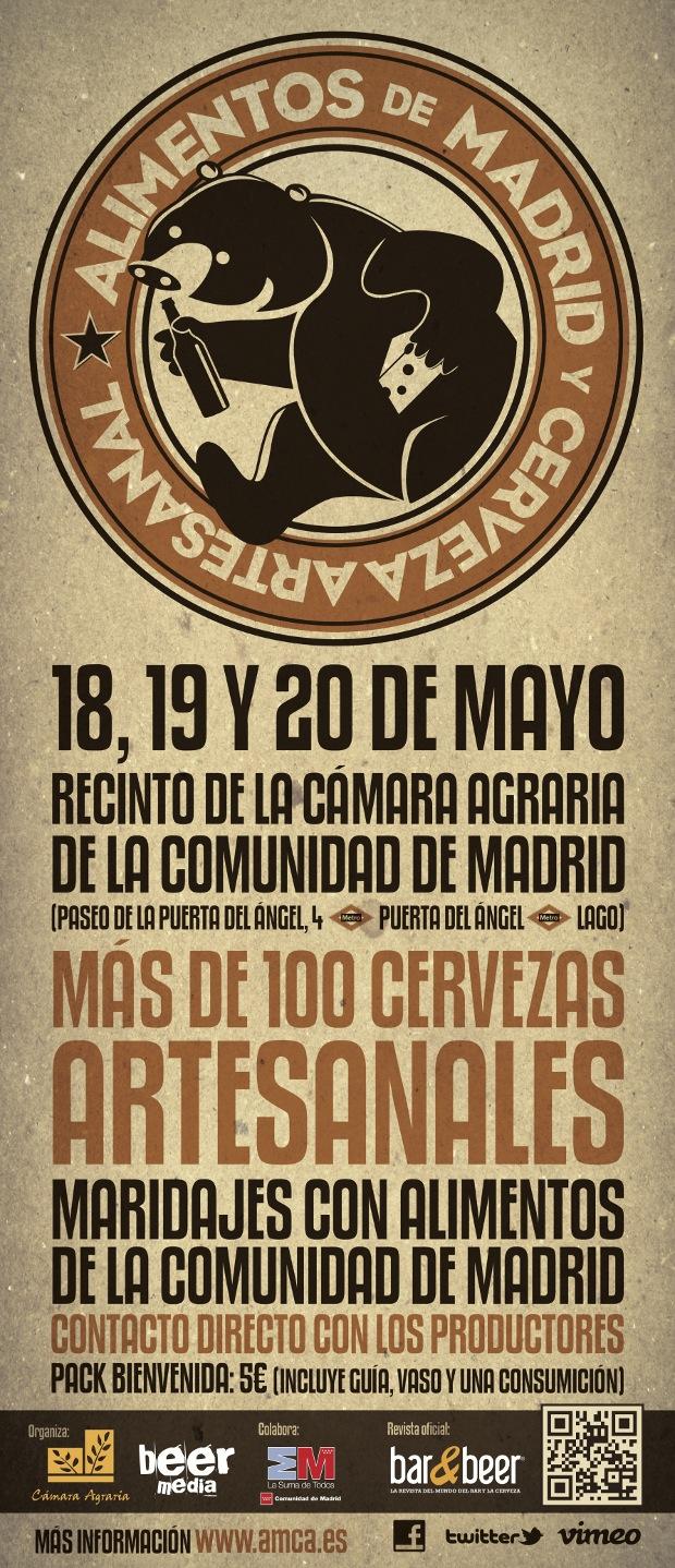Adesivo De Parede Infantil Barato ~ I Feria de la cerveza artesanal en Madrid