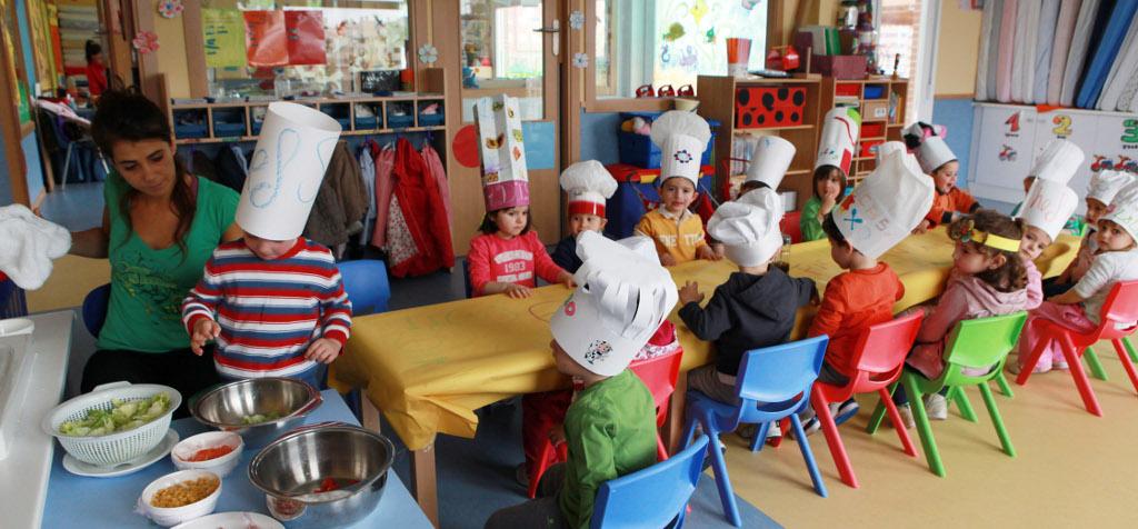 Talleres de cocina para los m s peque os en alcobendas - Cocina con ninos pequenos ...