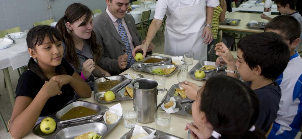 Asesoramiento a los menús escolares de Madrid