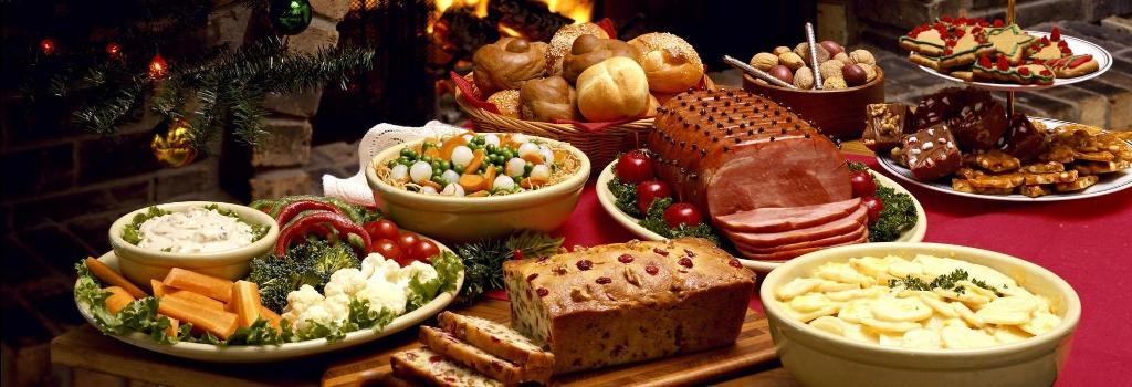 Resultado de imagen de navidad comida mesa
