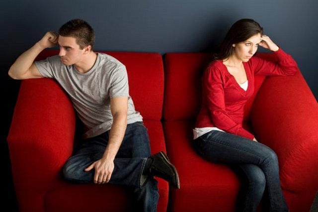 discusión pareja bronca