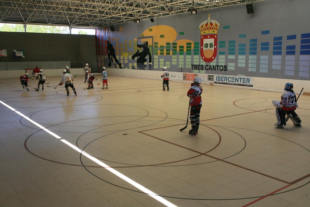 El club de hockey de tres cantos tendr nueva pista - Obra nueva tres cantos ...