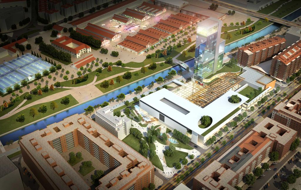 Nuevo espacio comercial y de ocio en madrid rio for Oficina de empleo madrid usera