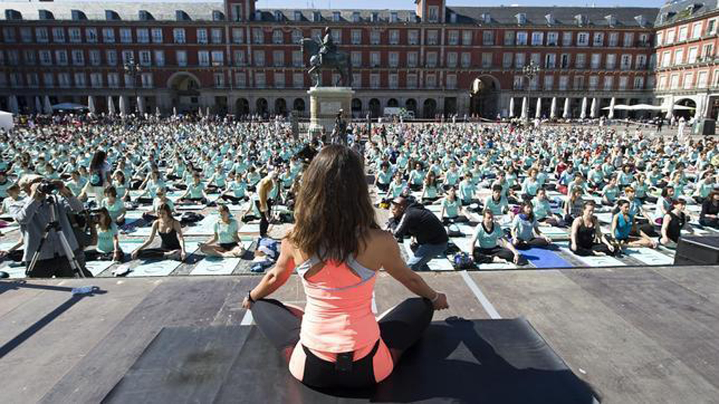 yoga-plaza mayor