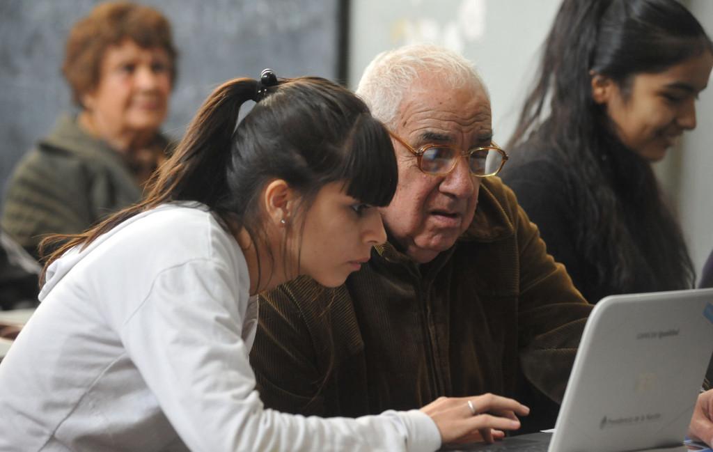 ancianos ordenadores