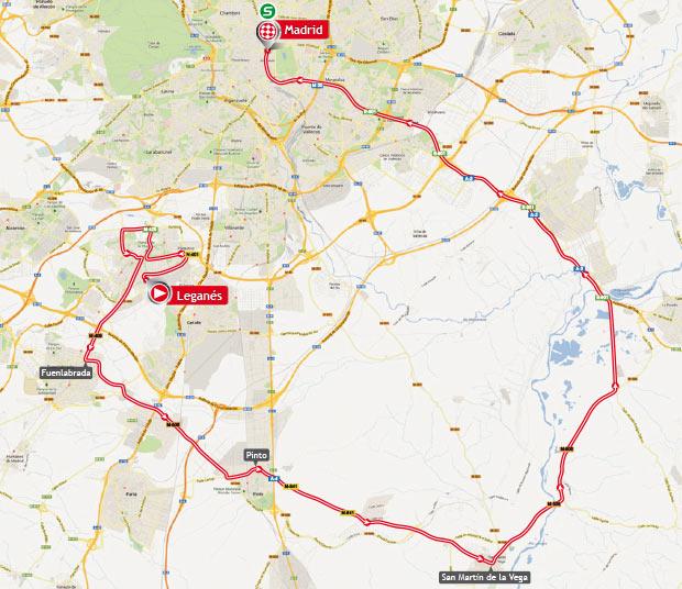 De Legans a Madrid ltima etapa de la Vuelta Ciclista a Espaa