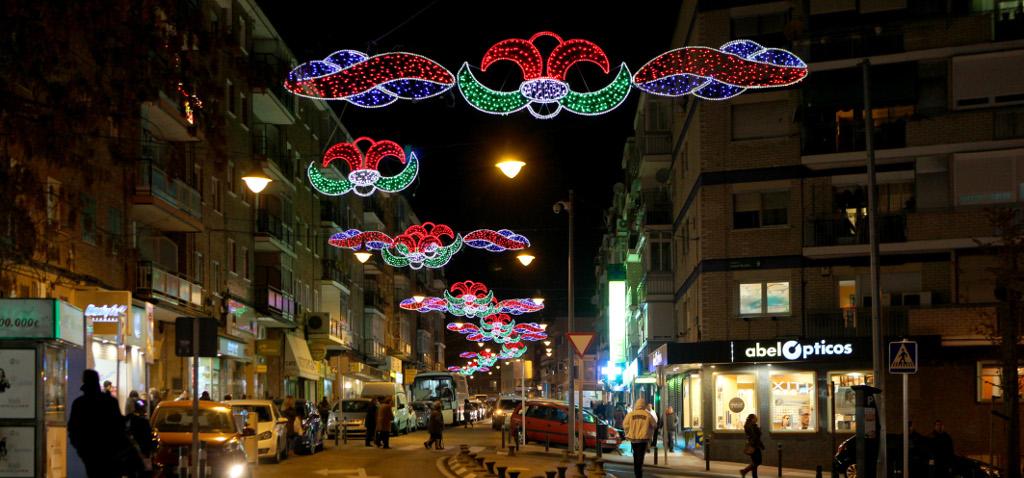 Encendido de luces de Navidad en Alcobendas