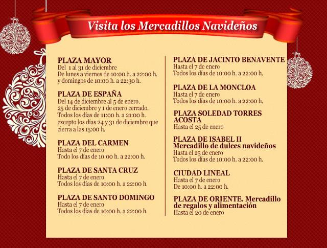Los mercadillos navide os de madrid - Mercadillos madrid capital ...