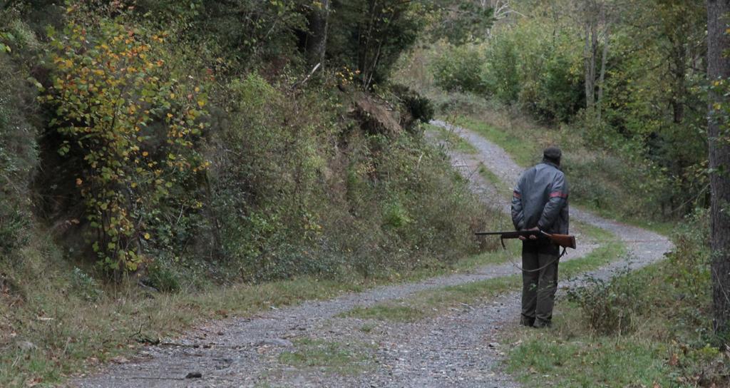 cazador-camino-publico