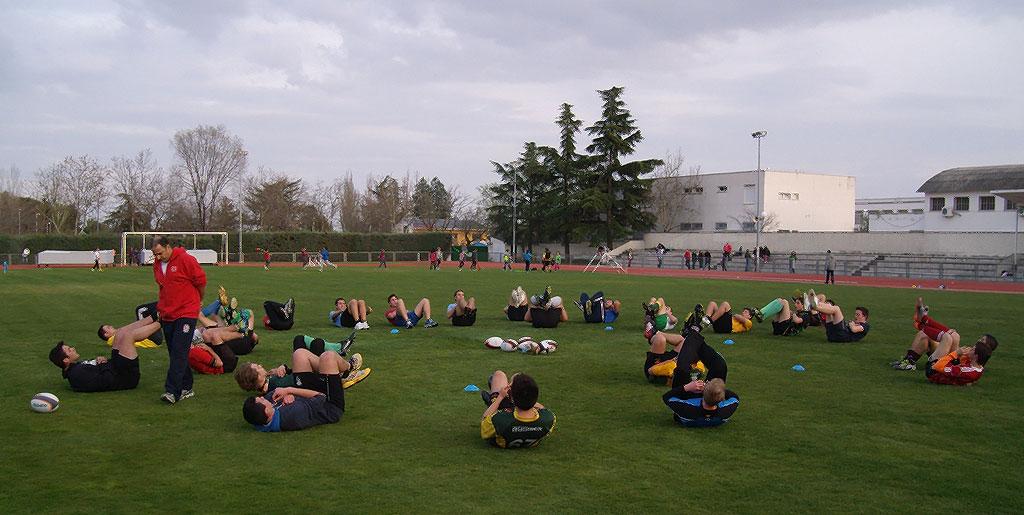 Nuevo equipo de rugby en colmenar viejo - Jardineria colmenar viejo ...