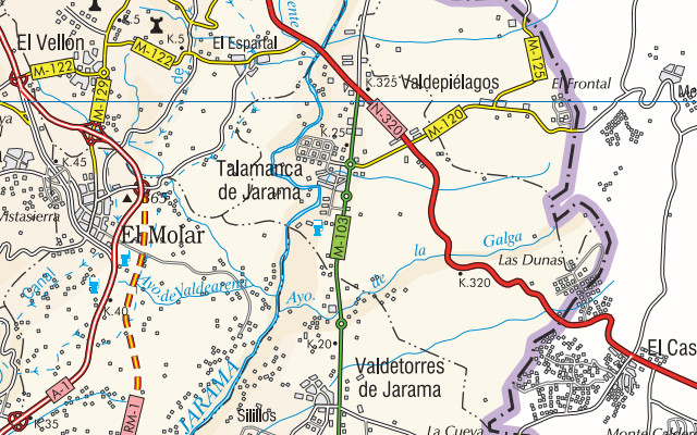 mapa valdetorres