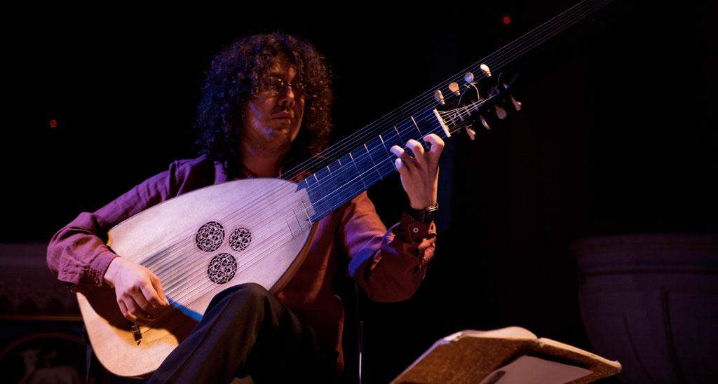 Guitarrista Enrike Solinís  © Fundación Cerezales Antonino y Cinia