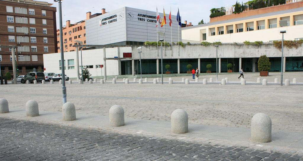 Obras en la plaza del ayuntamiento de tres cantos - Obra nueva tres cantos ...
