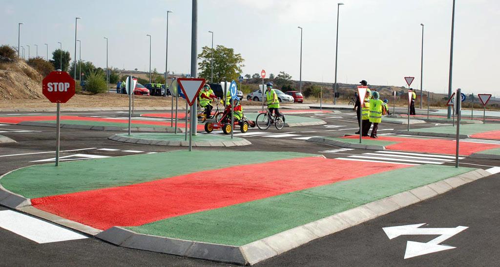 Circuito Vial : Colmenar ya tiene su circuito de educación vial