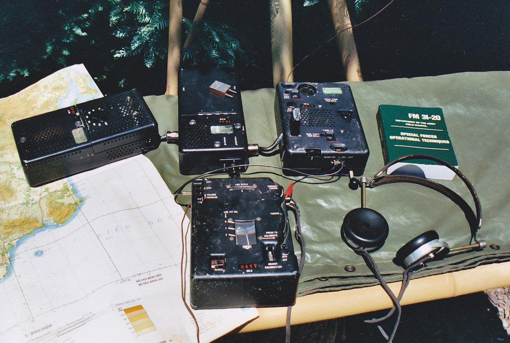 Estación de Radio Clandestina de los espías de la CIA
