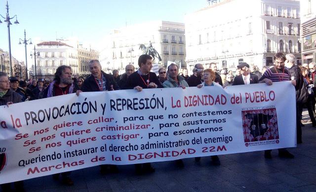 manifestacion  mareas ciudadana