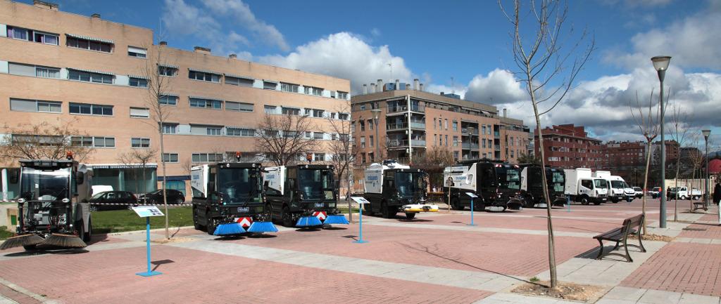 25 nuevos veh culos flota de limpieza viaria de alcobendas for Empresas de limpieza alcobendas