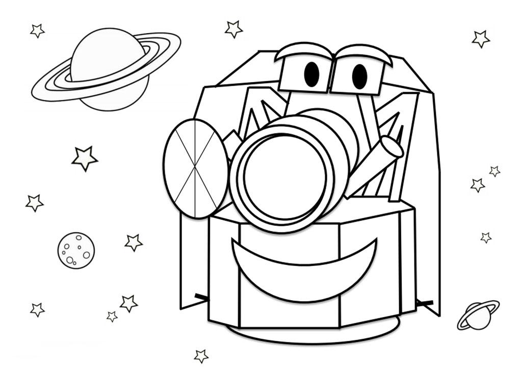 El telescopio CHEOPS envia tu dibujo al espacio