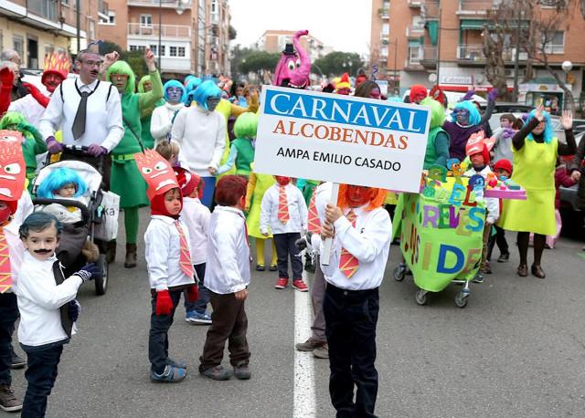 El entierro de la sardina puso punto final a las fiestas de carnaval en alcobendas - Fiestas en alcobendas ...