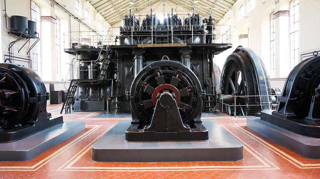 nave de motores