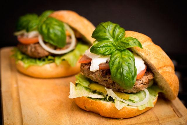 hamburguesa sostenible