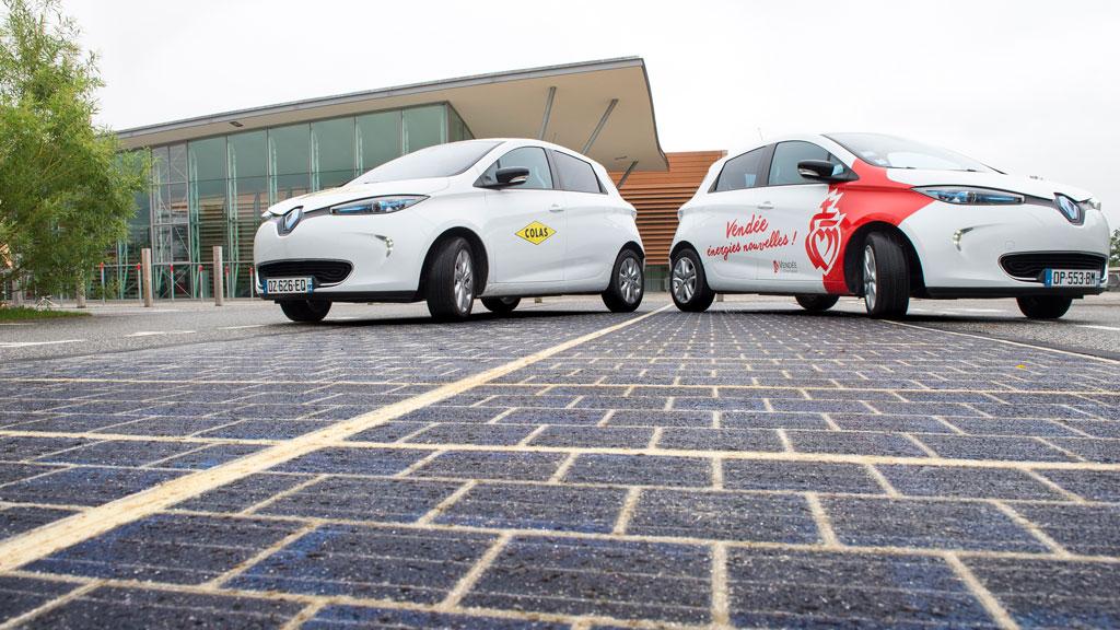 Resultado de imagen para francia carretera solar