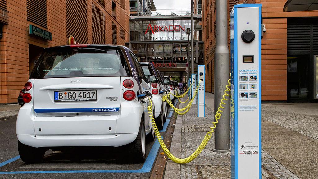 coche eléctrico eléctricos