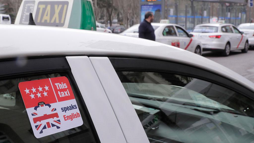 taxistas inglés