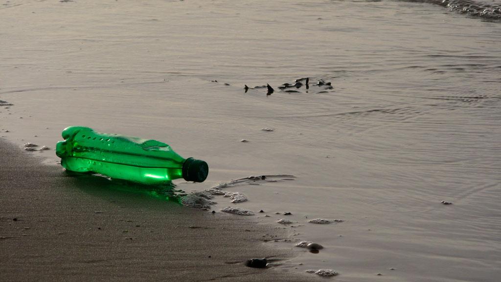 botellas plásticos