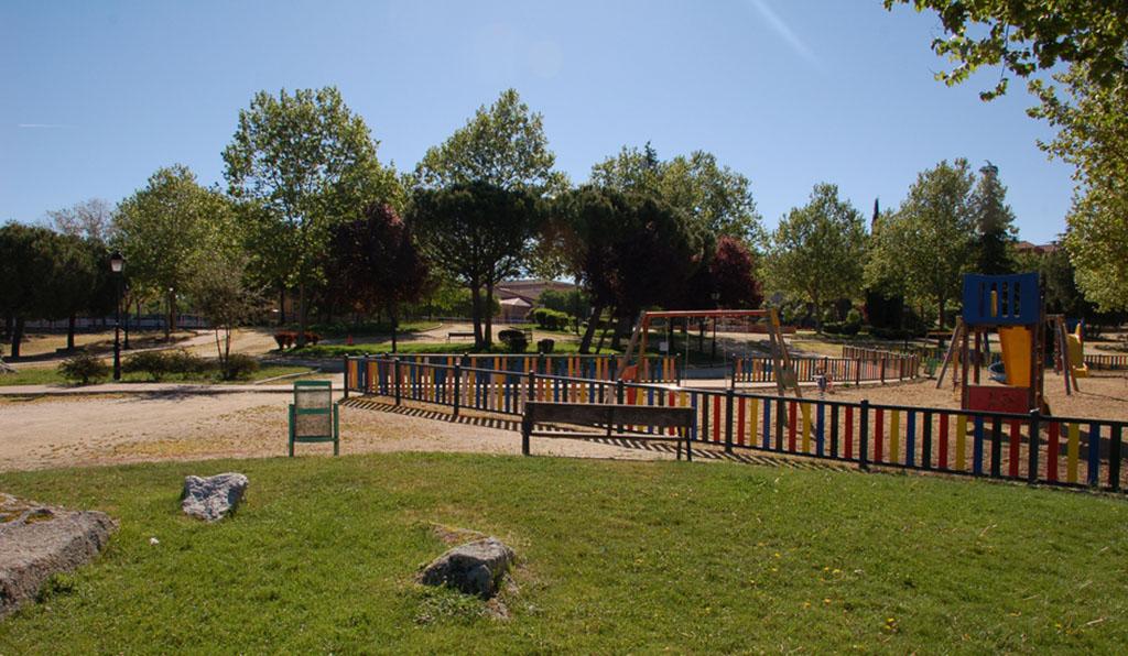 La reforma del parque de fuente santa en colmenar viejo ya - Jardineria colmenar viejo ...
