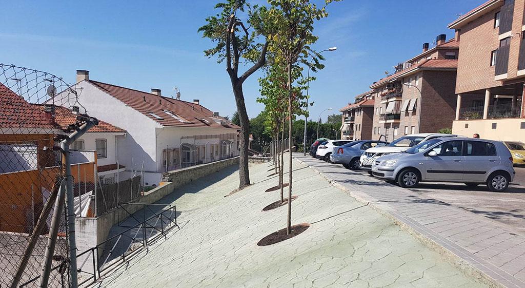 La calle montevideo de colmenar viejo estrena nueva imagen for Calle prado panetes 10 guadalix de la sierra