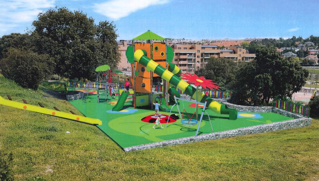 En octubre comenzará la ampliación del parque de la C/ Transiberiano ...