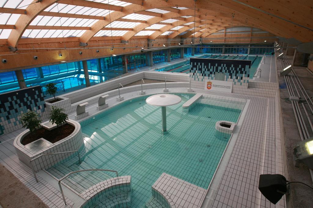 La piscina del centro deportivo islas de tres cantos for Piscina foresta tres cantos