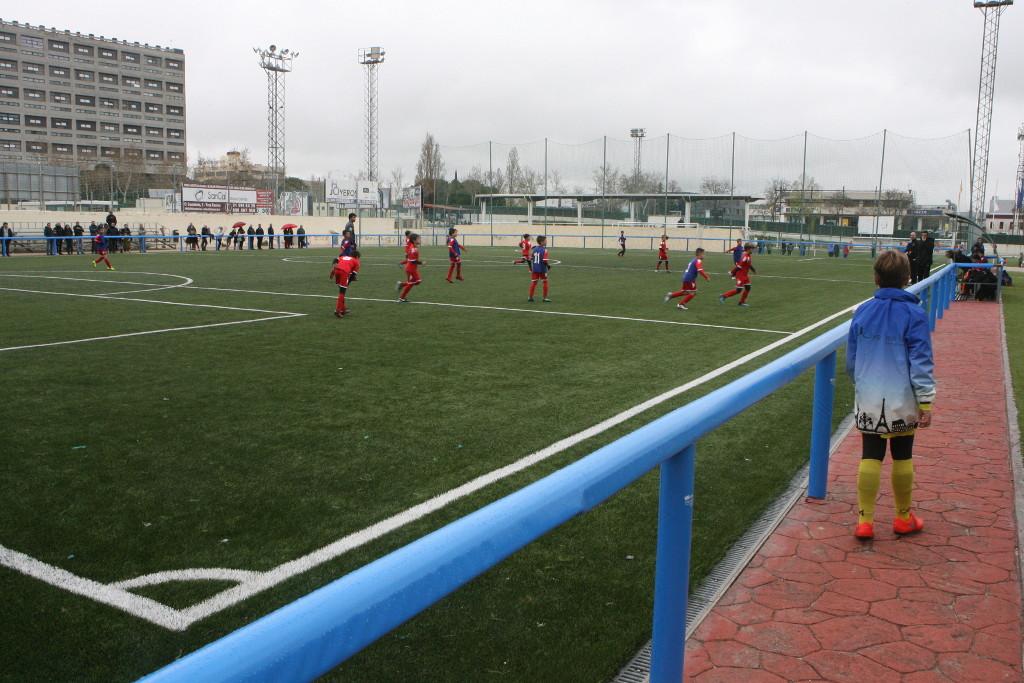 Los campos de fútbol de Foresta C de Tres Cantos ya cuentan con ...