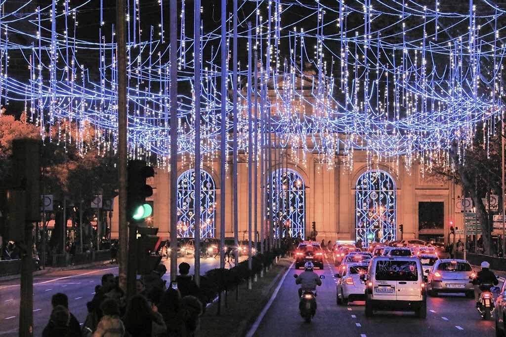 Puerta de Alcalá navidad