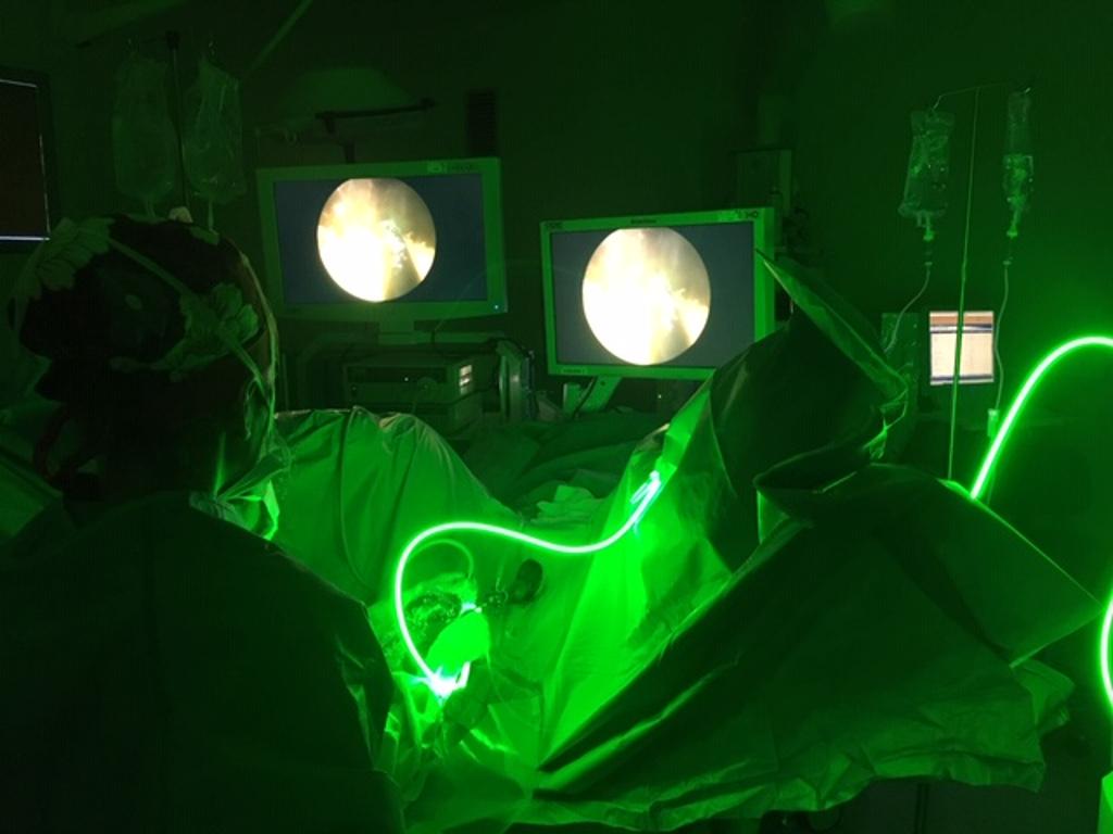tipos de cirugía láser para próstata verdes
