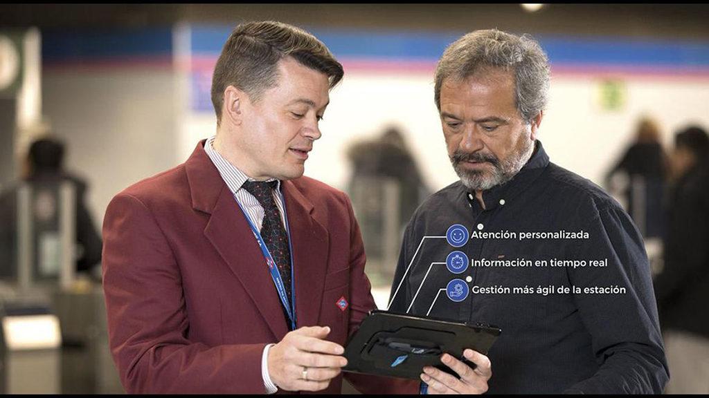 ayudar a los usuarios metro de madrid