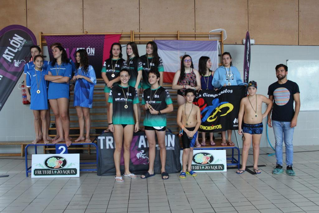 "trofeo ""50x100 trikatlón"" de Tres Cantos"