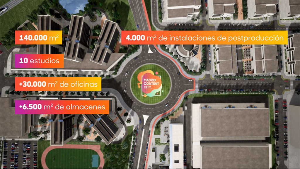 Madrid Content City