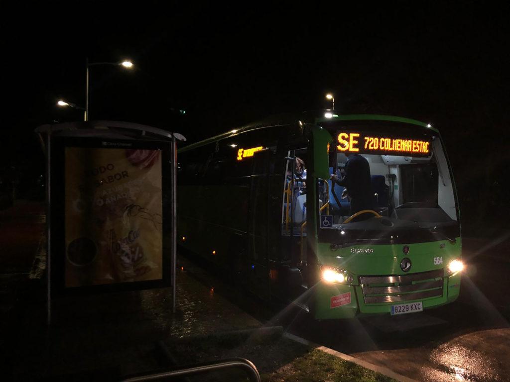 autobús lanzadera