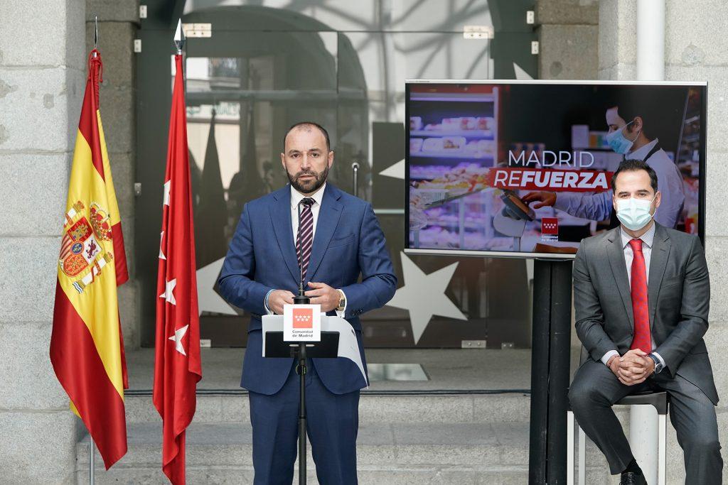 Madrid refuerza