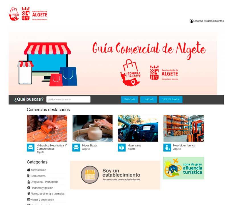 portal de comercio Algete