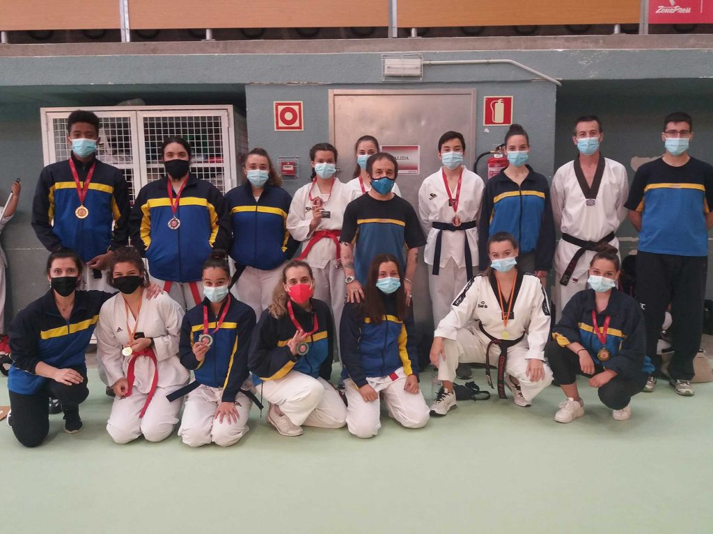 Escuela de taekwondo de Colmenar Viejo