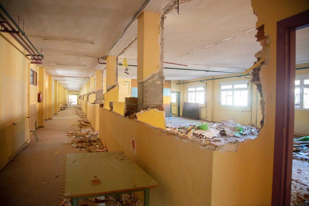 mejora de los colegios